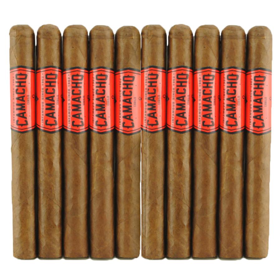 Camacho Corojo Natural Churchill 10-Pack
