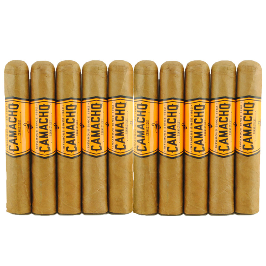 Camacho Connecticut Robusto 10-Pack