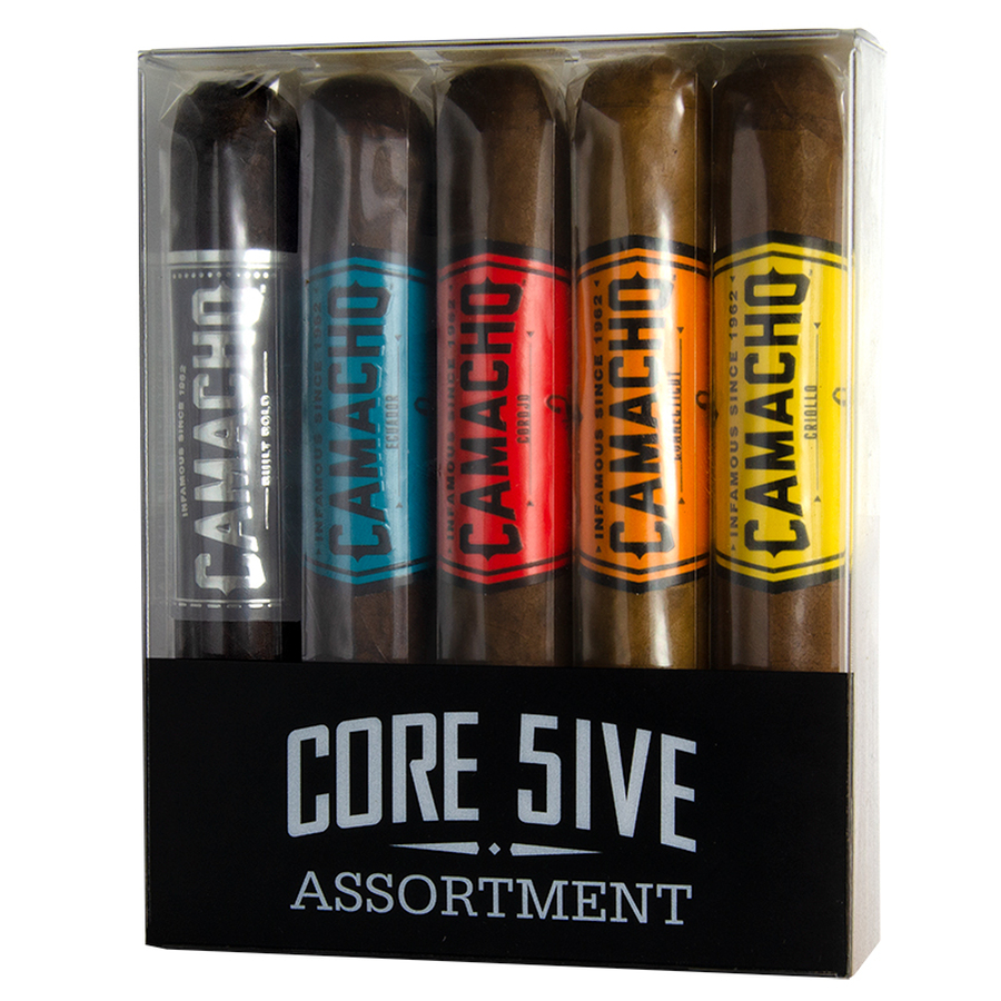 Camacho Bold Core 5-Cigar Assorted Sampler