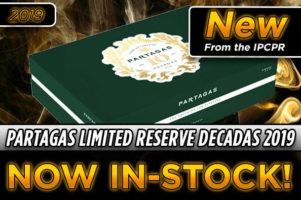 Partagas Limited Reserve Decadas 2019