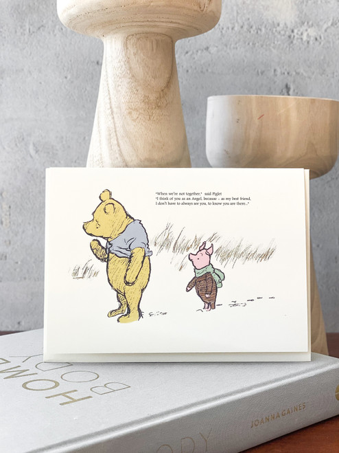 When We are Not Together Pooh Card