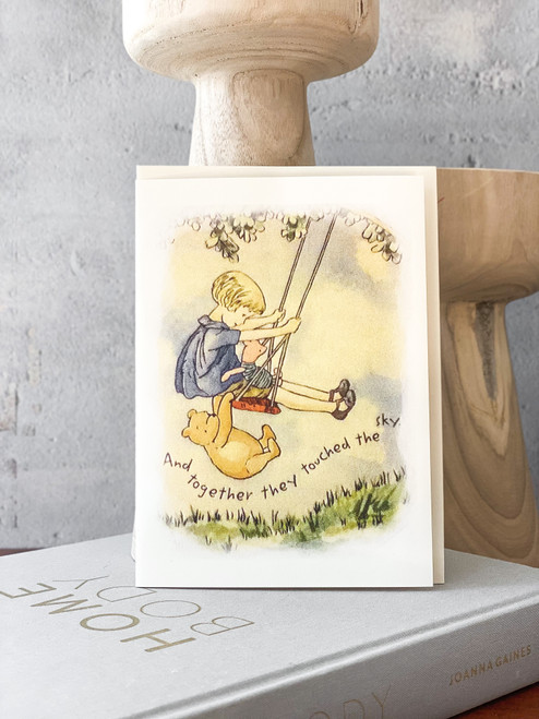 And Together Pooh Card