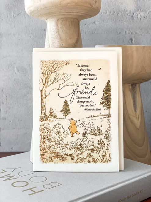 Time Could Change That Pooh Card