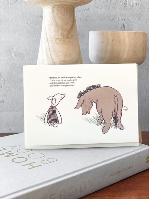 Promise Me Pooh Card