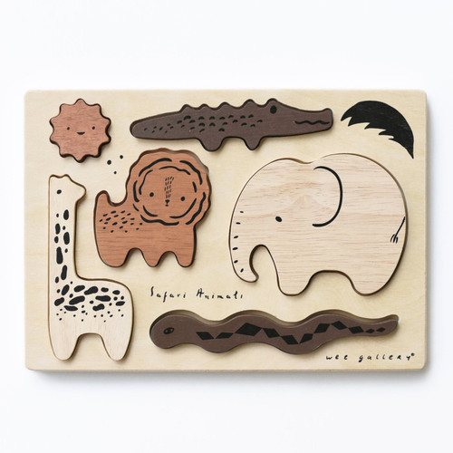 Wooden Tray Puzzle | Safari Animals