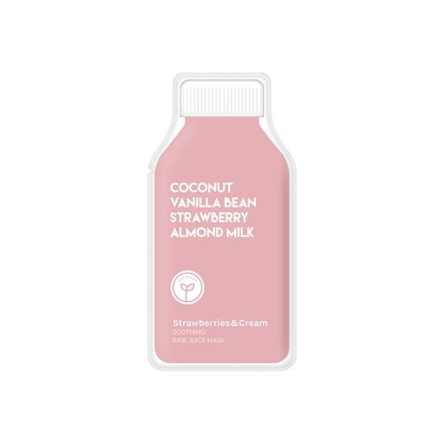 Raw Juice Mask   Strawberries & Cream for Soothing