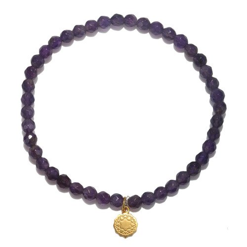 Chakra Bracelet | Amethyst Crown