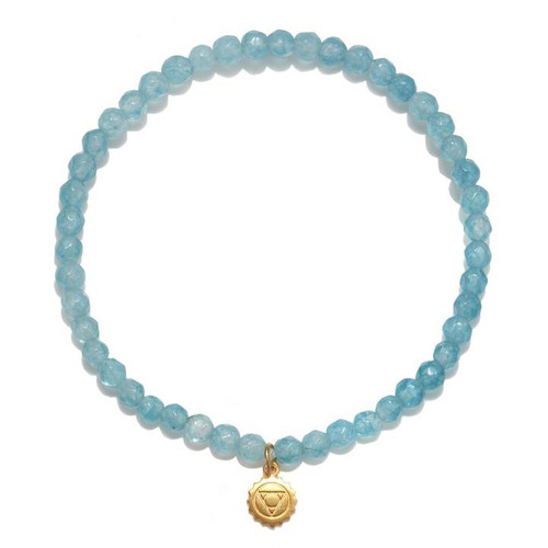 Chakra Bracelet | Angelite Throat