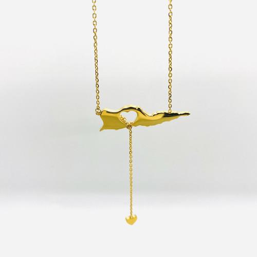 St. Croix Lariat Necklace