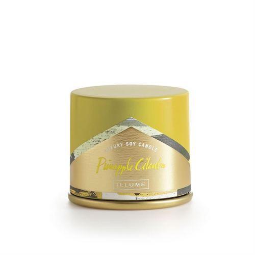Demi Vanity Tin Candle | Pineapple-Cilantro