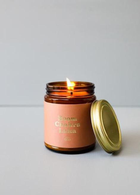 Mantra Candle | Boom Chakra Laka