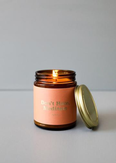 Mantra Candle | Don't Hate