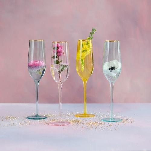 Bubble Champagne Flutes