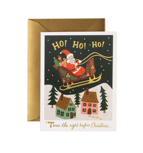 Christmas Delivery Card