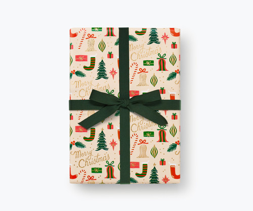 Deck The Halls Continuous Wrapping Roll