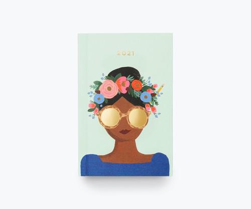 2021 Flower Crown Pocket Planner