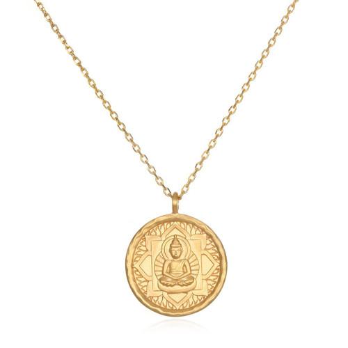 Gold Buddha Necklace
