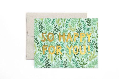 Mint Meadow Friendship Card