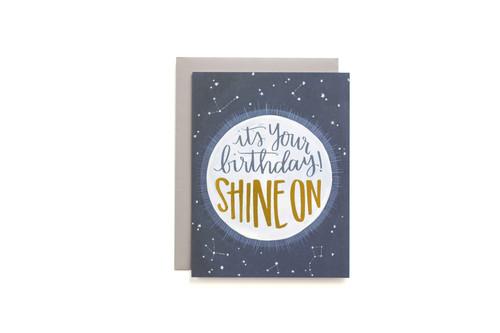 Shine On Birthday Card