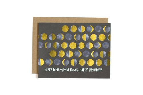 Many Moons Birthday Card
