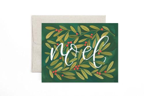 Noel Holly Card