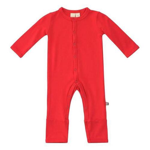 Children's Romper in Crimson