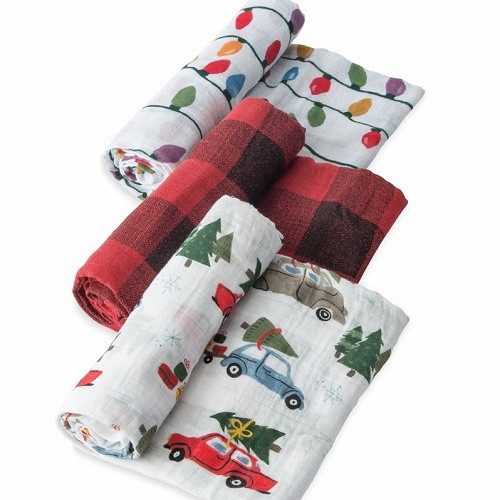 Cotton Muslin Swaddle Set | Holiday Haul