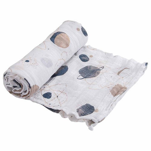 Cotton Muslin Swaddle | Planetary