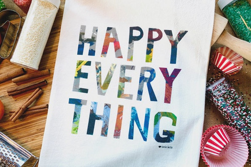 Happy Everything Gourmet Towel