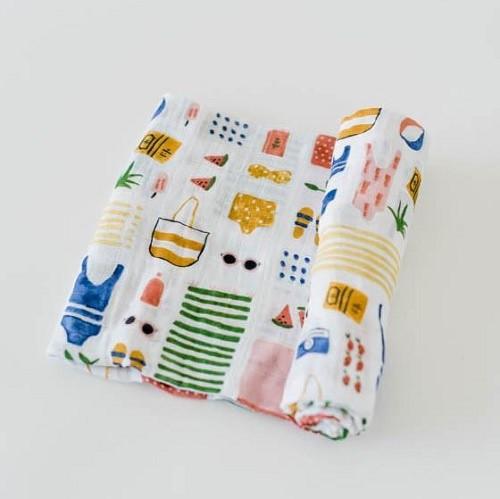 Cotton Swaddle   Beach Bag