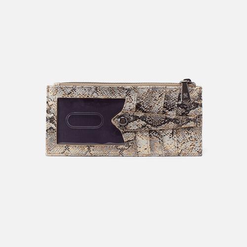 Linn Credit Card Wallet | Glam Snake