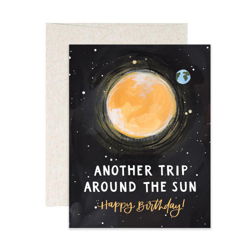 Birthday Sun Trip Card