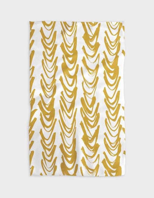 Kitchen Tea Towel | Gold-Curtain