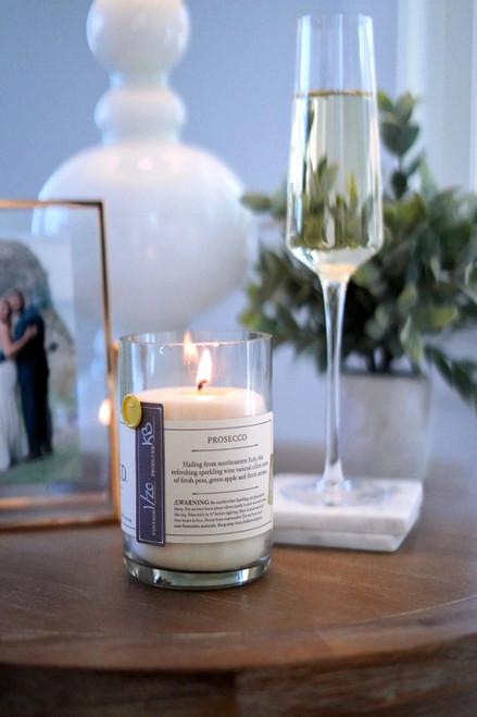 Prosecco Candle