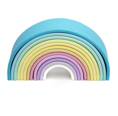 Silicone Rainbow | Pastel 12 Piece