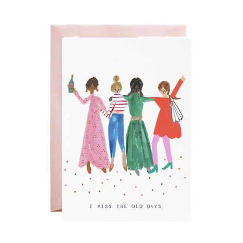 Girlfriends Where Are You Greeting Card