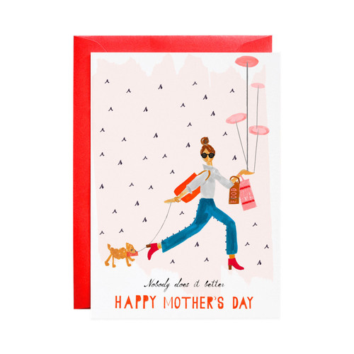 All This & Dinner by Six Greeting Card