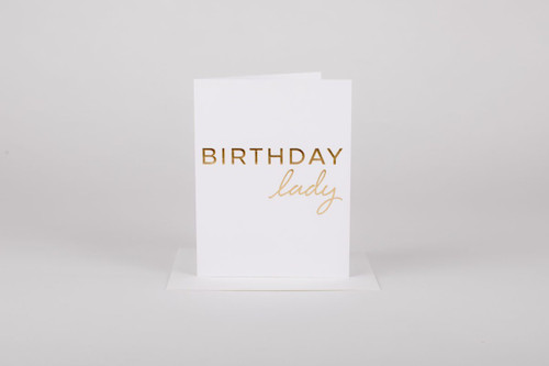 Birthday Lady Card
