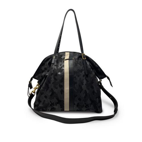 Crossbody Bags | Black Canvas Camo