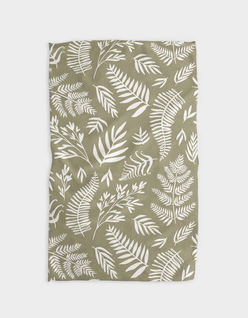 Kitchen Tea Towel | Olive
