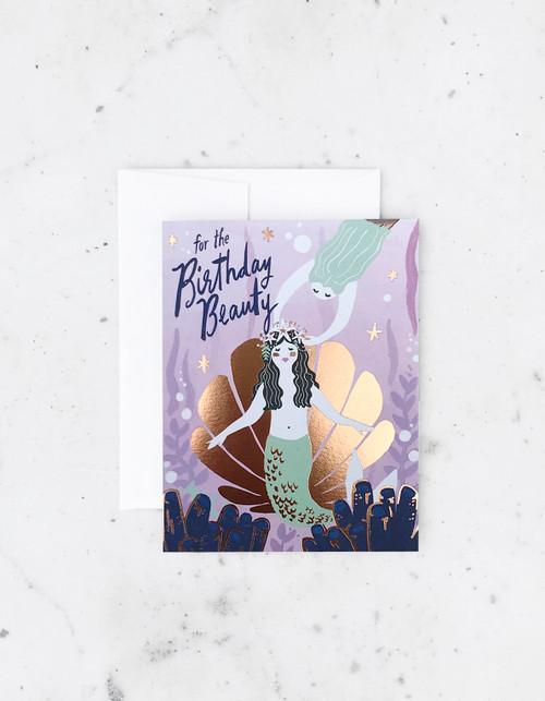 Birthday Beauty Greeting Card