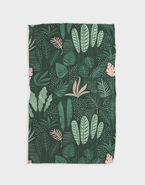 Kitchen Tea Towel   Forest Floor
