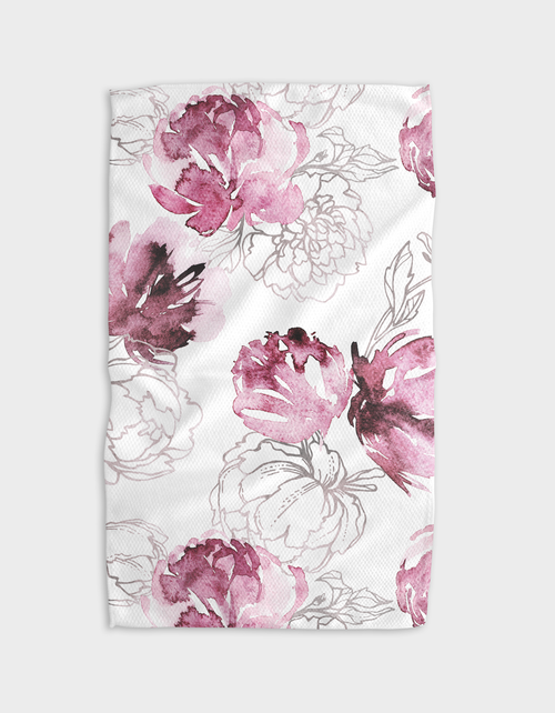 Kitchen Tea Towel | Pretty in Pink