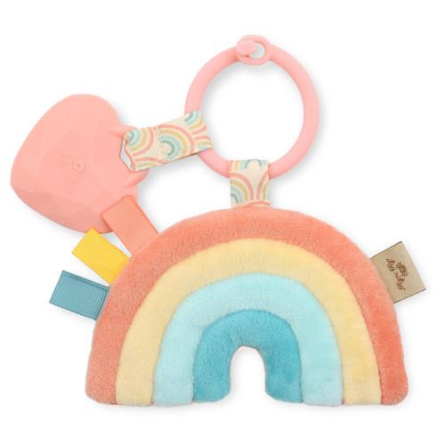Rainbow Itzy Pal Plush & Teether Toy