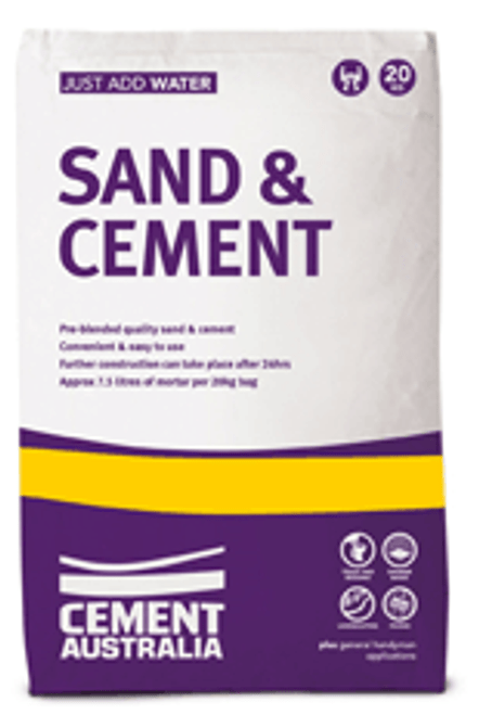 SAND/CEMENT MIX 20KG