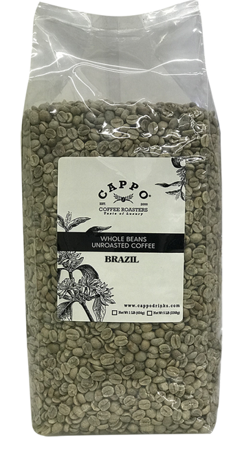 Brazil Santos - 5 LB Unroasted Coffee Bean