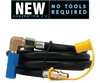 Coleman® Roadtrip RV Quick-Connect Kit - 8 Ft. Hose • Fits LXE,LXX,LX Models ONLY