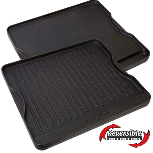 "Reversible Grill/Griddle Fits 14"" and 16"" Stoves"
