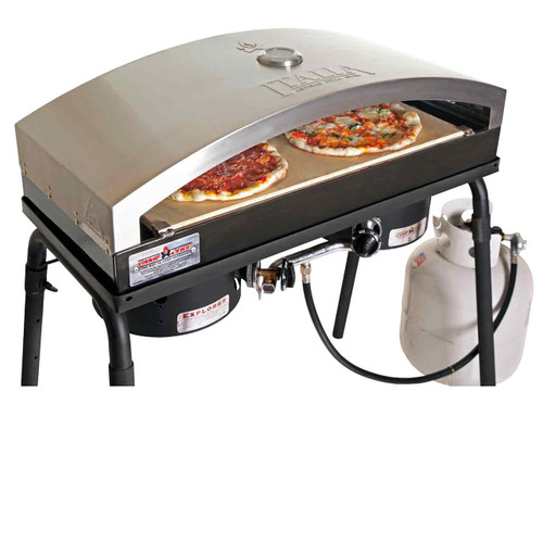 "Italia Artisan Pizza Oven Accesssory for 14"" Camp Chef Stoves"
