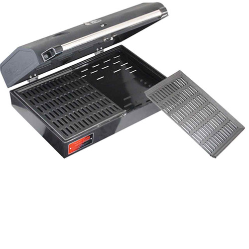 Deluxe BBQ Grill Box covers two burners